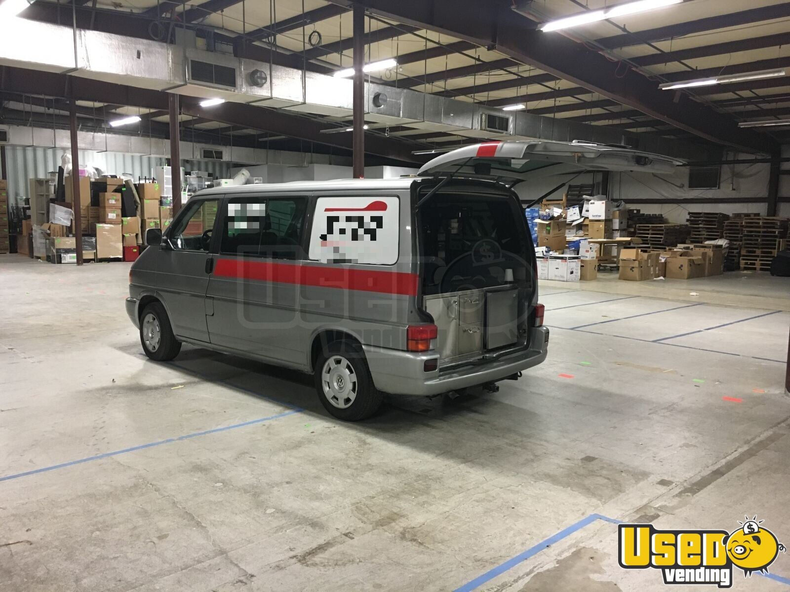 2001 Volkswagen Eurovan Coffee Truck Cabinets Indiana Gas Engine for Sale - 2