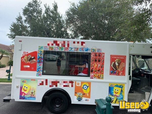2001 Workhorse Step Van Ice Cream Truck Ice Cream Truck Florida Diesel Engine for Sale