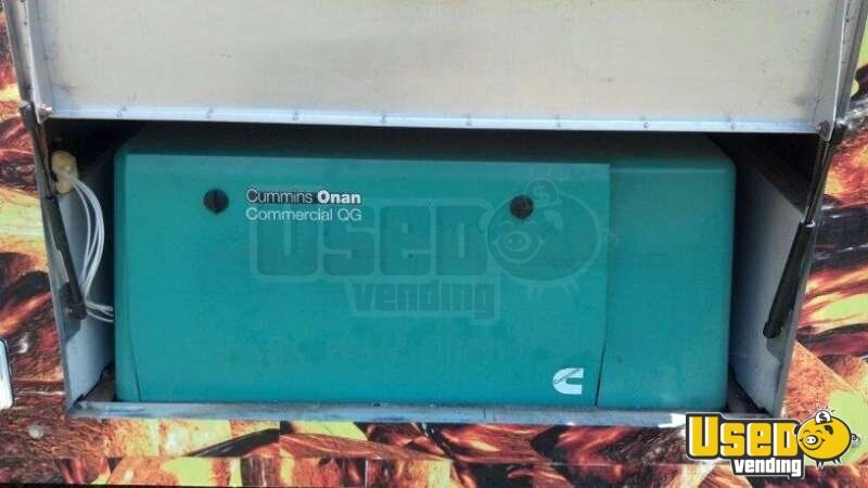 2002 2002 Ford Barbecue Food Truck Gfi Outlets Florida Gas Engine for Sale - 11