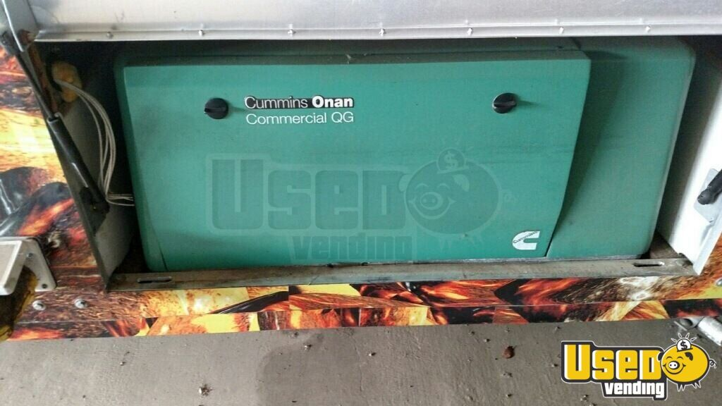 2002 2002 Ford Barbecue Food Truck Hot Water Heater Florida Gas Engine for Sale - 12