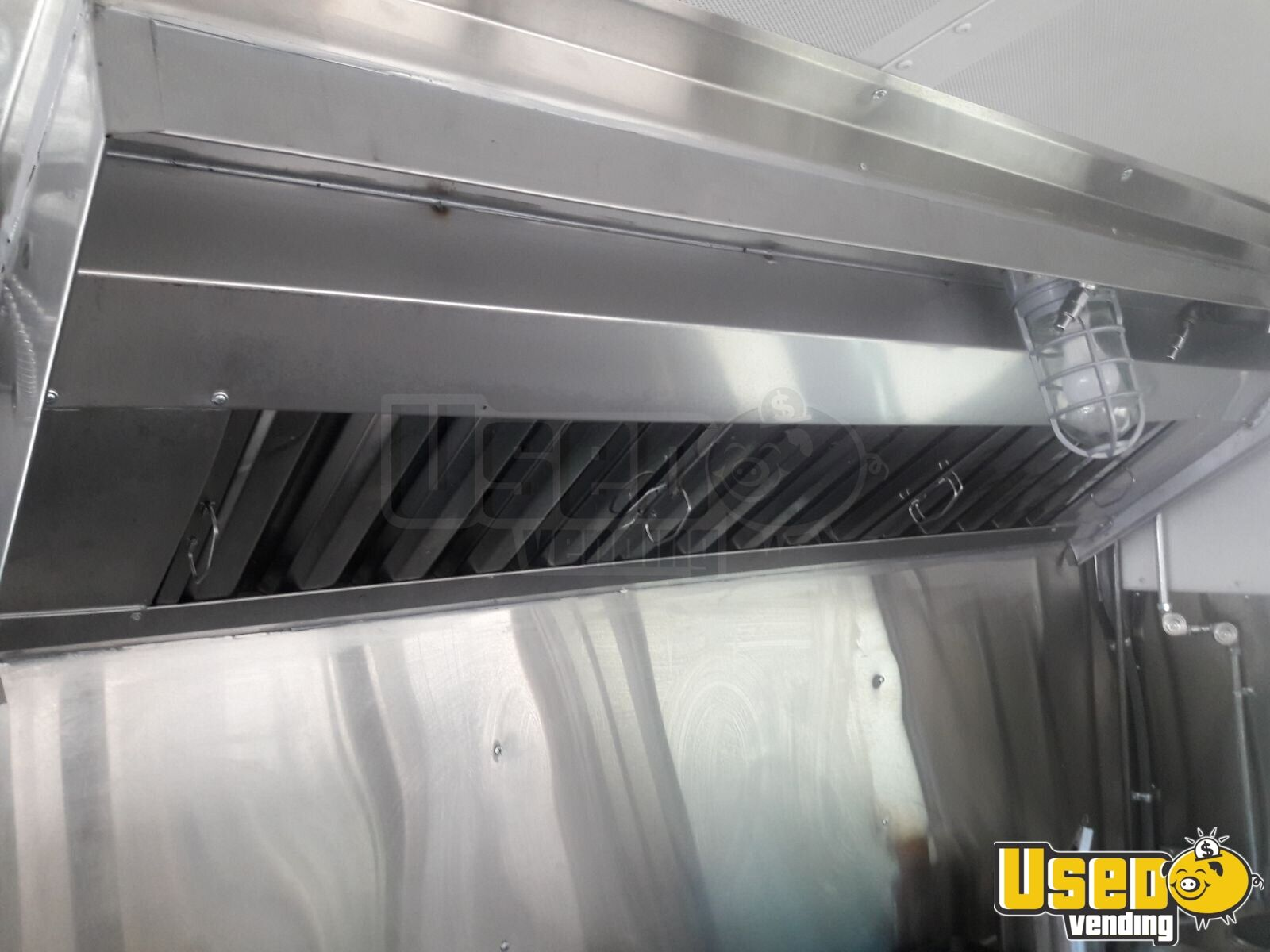 2002 24' School Bus Kitchen Food Truck All-purpose Food Truck Exhaust Fan New Mexico Gas Engine for Sale - 11