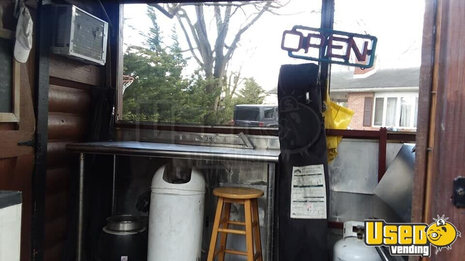 2002 Barbecue Food Trailer Bbq Smoker Maryland for Sale - 7