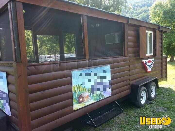 2002 Barbecue Food Trailer Cabinets Maryland for Sale - 3