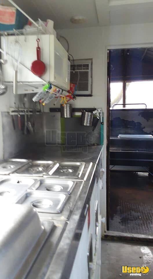 2002 Barbecue Food Trailer Hot Water Heater Maryland for Sale - 13