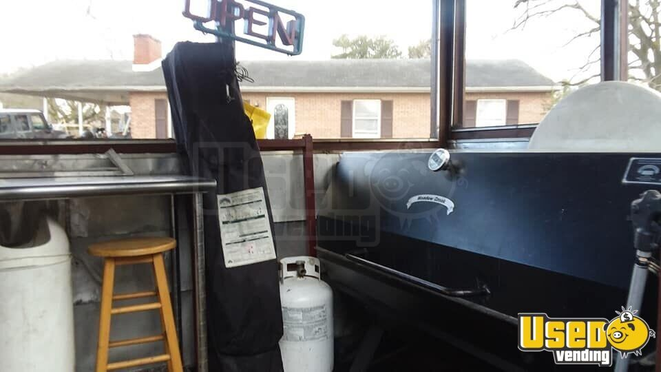 2002 Barbecue Food Trailer Microwave Maryland for Sale - 8