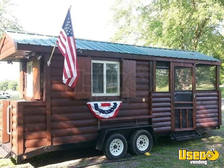 2002 Barbecue Food Trailer Propane Tank Maryland for Sale - 4