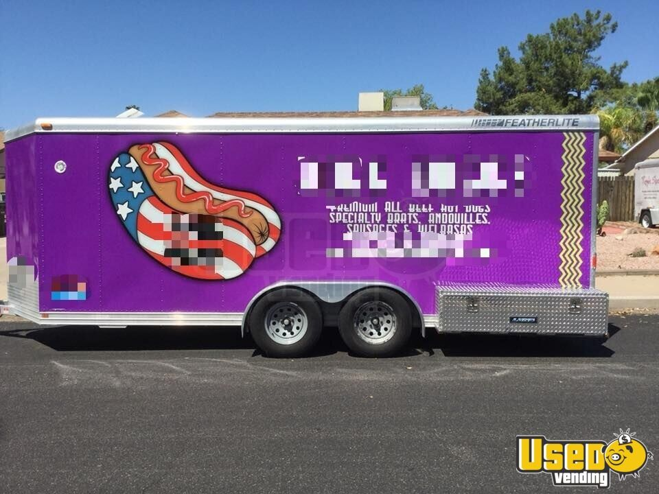 2002 Featherlite All-purpose Food Trailer Awning Arizona for Sale - 4