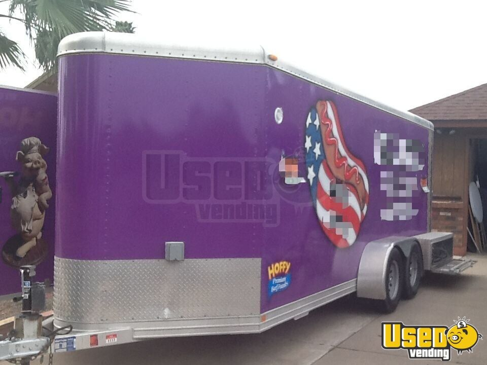 2002 Featherlite All-purpose Food Trailer Cabinets Arizona for Sale - 3
