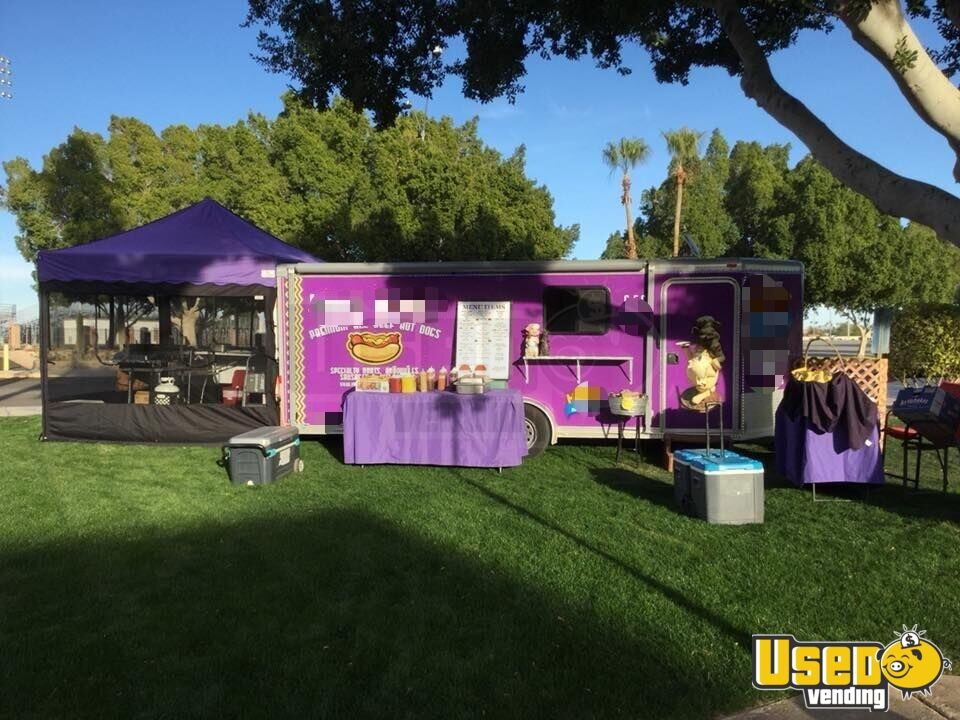 2002 Featherlite All-purpose Food Trailer Concession Window Arizona for Sale - 2