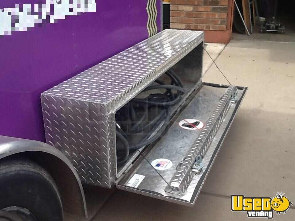 2002 Featherlite All-purpose Food Trailer Interior Lighting Arizona for Sale - 13