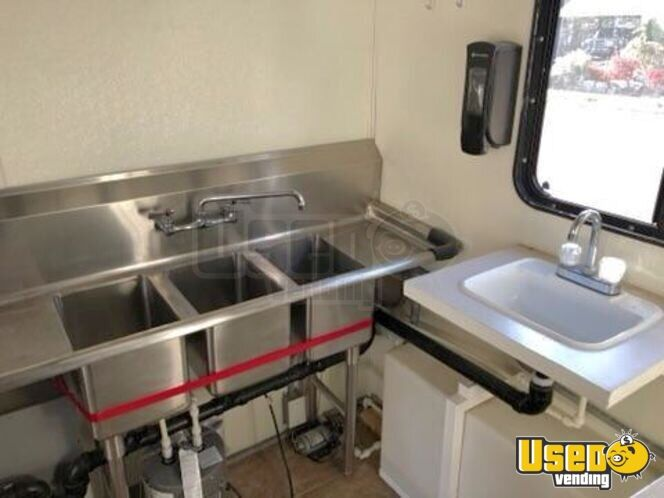 2002 Food Concession Trailer Concession Trailer Interior Lighting Utah for Sale - 6