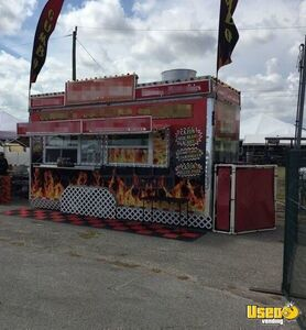2002 Food Concession Trailer Kitchen Food Trailer Spare Tire Texas for Sale