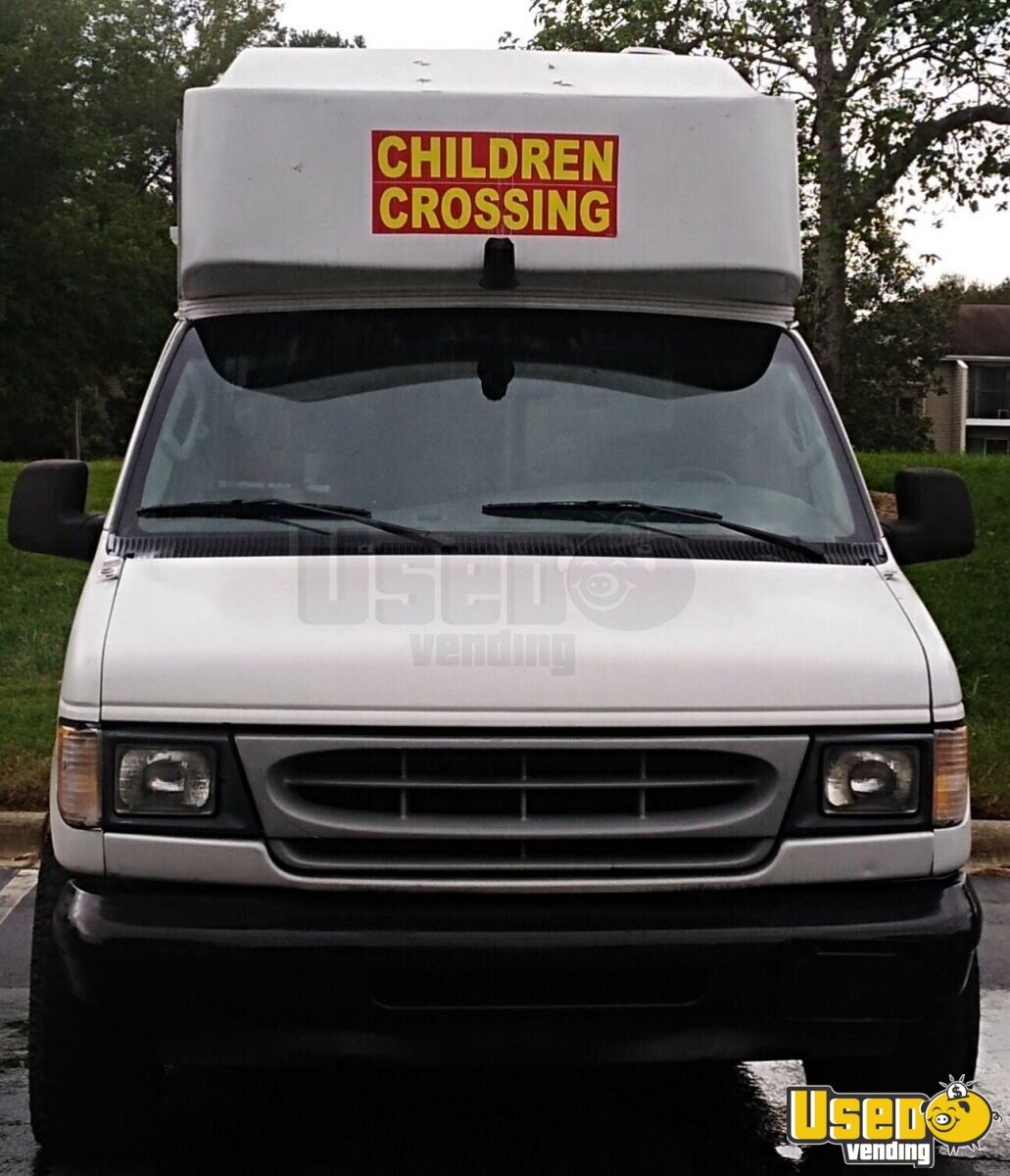 2002 Ford E250 Conversion All-purpose Food Truck Deep Freezer North Carolina for Sale - 5