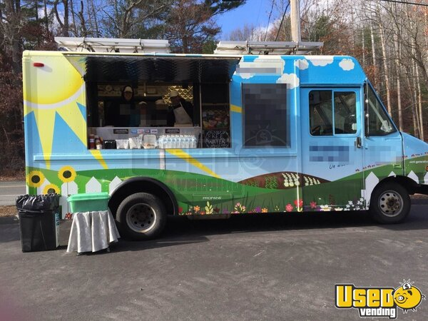 2002 Ford E350 All-purpose Food Truck Massachusetts Gas Engine for Sale