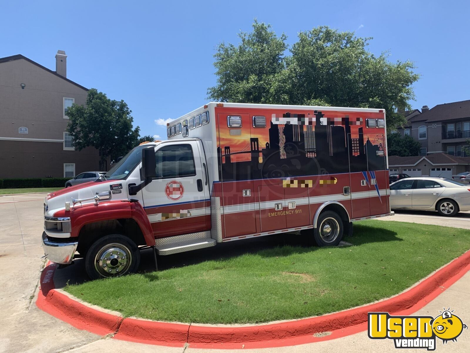 2002 Gmc All-purpose Food Truck Air Conditioning Texas Diesel Engine for Sale - 2