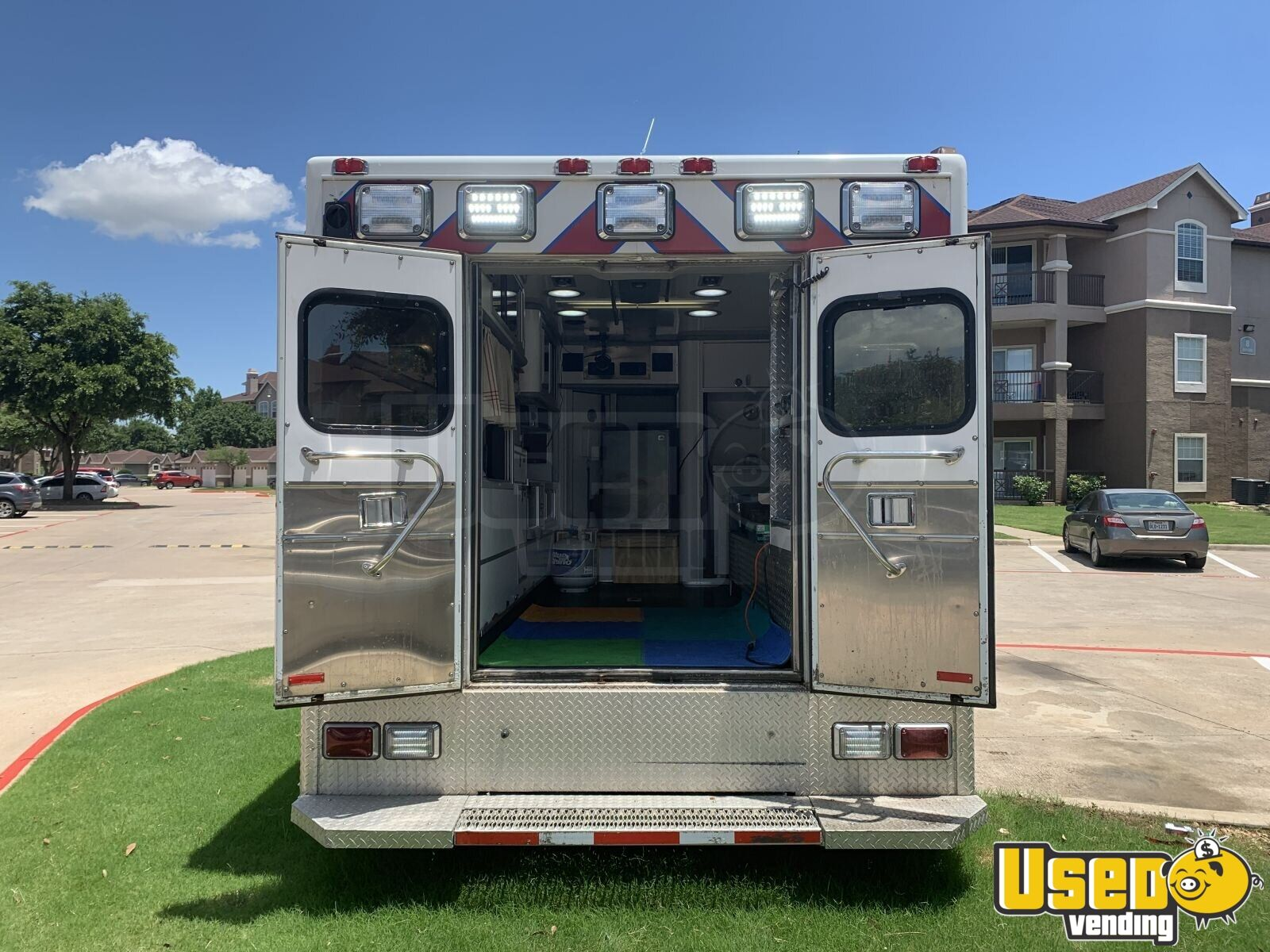 2002 Gmc All-purpose Food Truck Propane Tank Texas Diesel Engine for Sale - 7