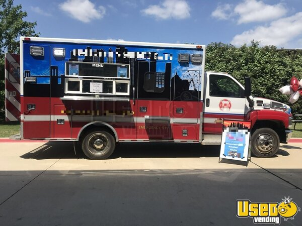 2002 Gmc All-purpose Food Truck Texas Diesel Engine for Sale