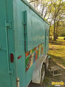 2002 Shaved Ice Concession Trailer Snowball Trailer Concession Window Mississippi for Sale