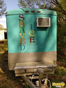 2002 Shaved Ice Concession Trailer Snowball Trailer Microwave Mississippi for Sale