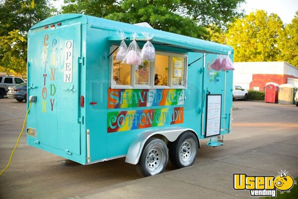 2002 Shaved Ice Concession Trailer Snowball Trailer Mississippi for Sale