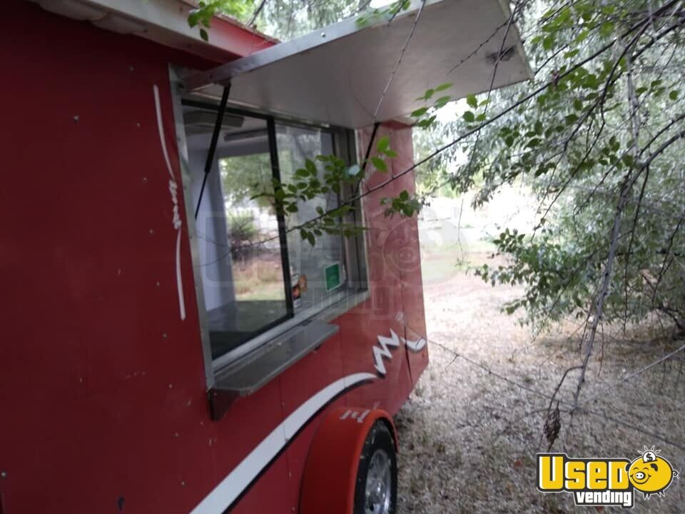 2002 Sno Pro Food All-purpose Food Trailer Concession Window New Mexico for Sale - 2