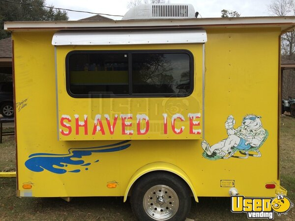 Sno pro shaved ice trailers