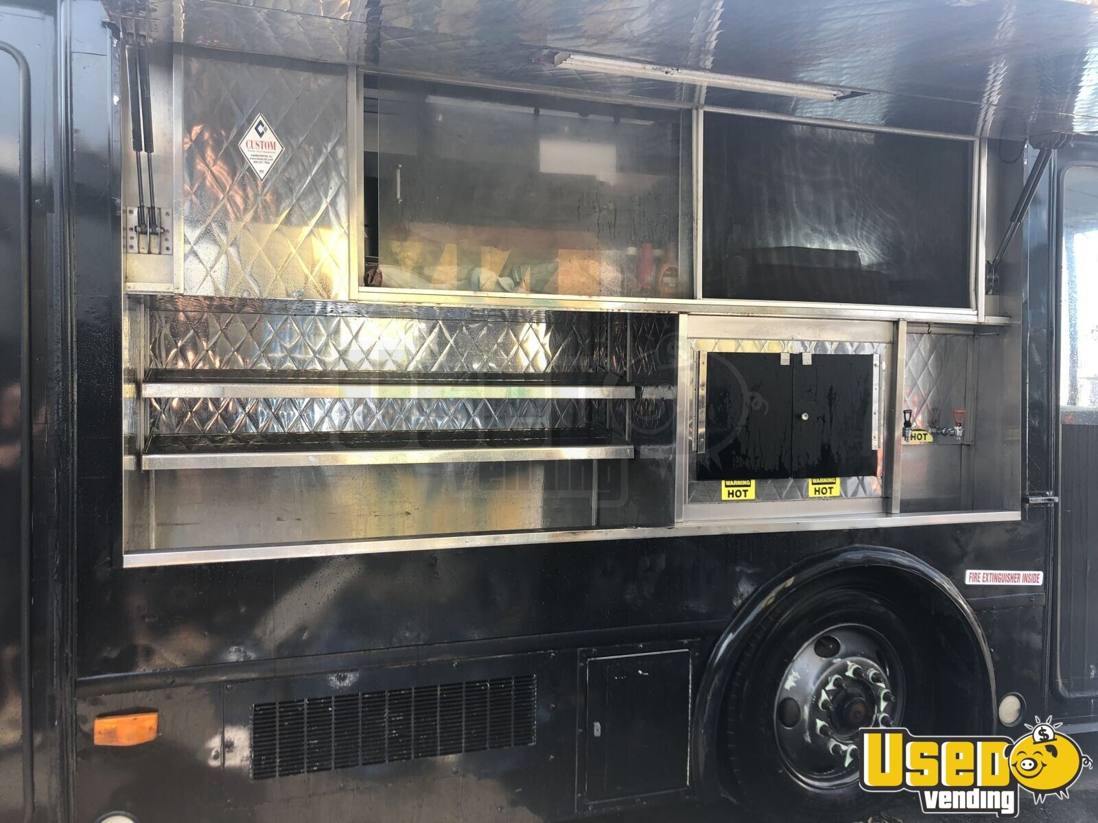 2002 Spartan Catering Food Truck Floor Drains New York for Sale - 5