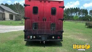 2002 Step Van Barbecue Food Truck Barbecue Food Truck Spare Tire Florida Gas Engine for Sale