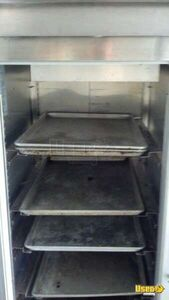 2002 Step Van Barbecue Food Truck Barbecue Food Truck Work Table Florida Gas Engine for Sale