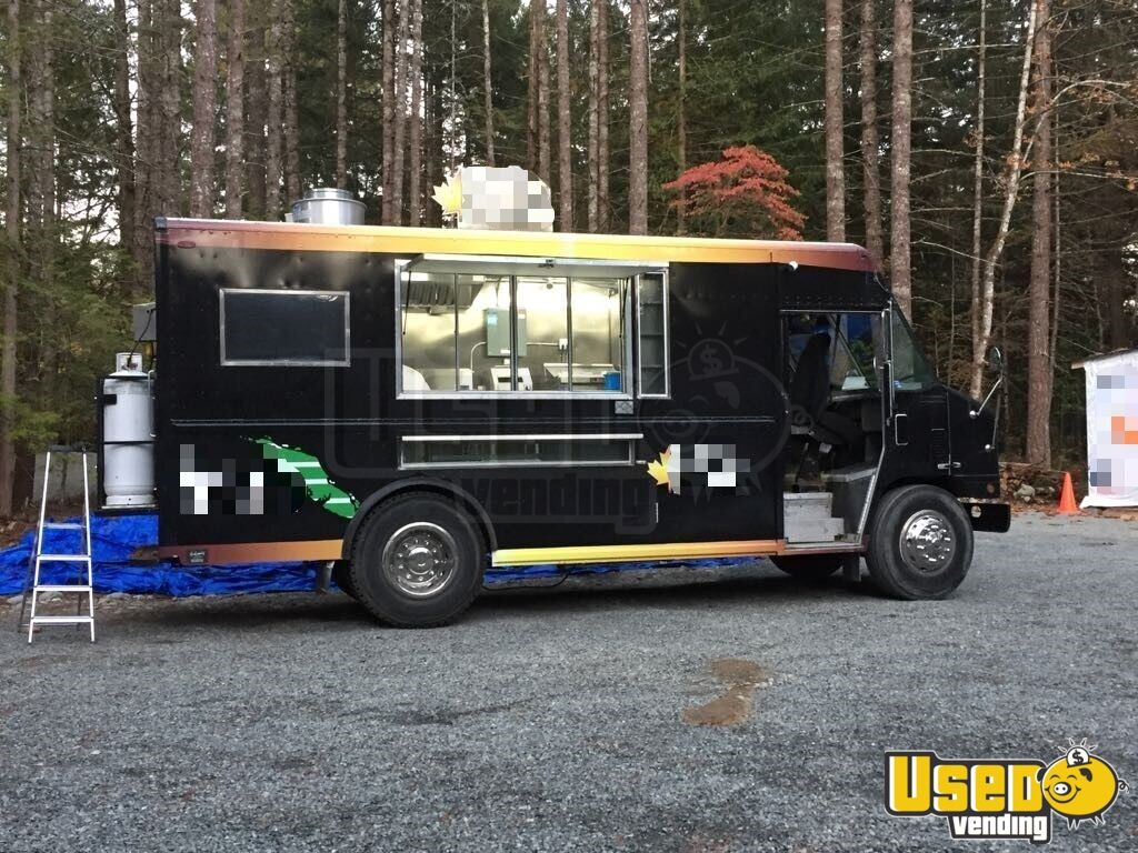 2003 16' Step Van Kitchen Food Truck All-purpose Food Truck Stainless Steel Wall Covers British Columbia Diesel Engine for Sale - 3