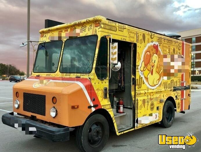 2003 All-purpose Food Truck Cabinets Texas Diesel Engine for Sale - 4