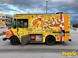 2003 All-purpose Food Truck Stainless Steel Wall Covers Texas Diesel Engine for Sale