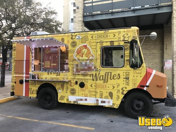 2003 All-purpose Food Truck Texas Diesel Engine for Sale