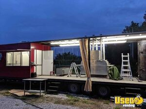 2003 Barbecue Concession Trailer Barbecue Food Trailer Air Conditioning California for Sale
