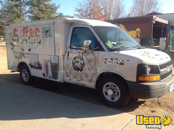 2003 Chevy Coffee Truck California Gas Engine for Sale