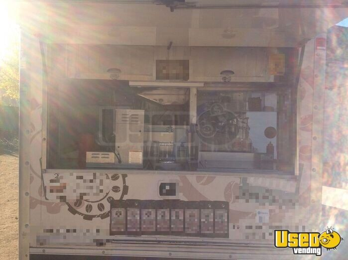2003 Chevy Coffee Truck Stainless Steel Wall Covers California Gas Engine for Sale - 4