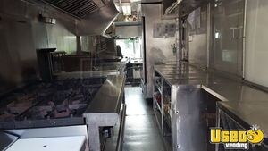 2003 Chevy Workhorse All-purpose Food Truck Stainless Steel Wall Covers Texas Gas Engine for Sale
