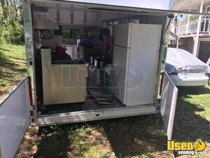 2003 Food Concession Trailer Kitchen Food Trailer Exterior Customer Counter Kentucky for Sale