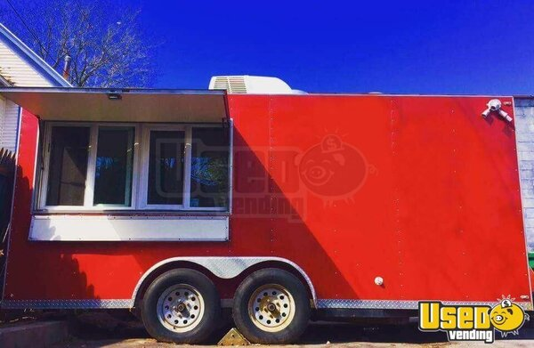 2003 Food Concession Trailer Kitchen Food Trailer New York for Sale