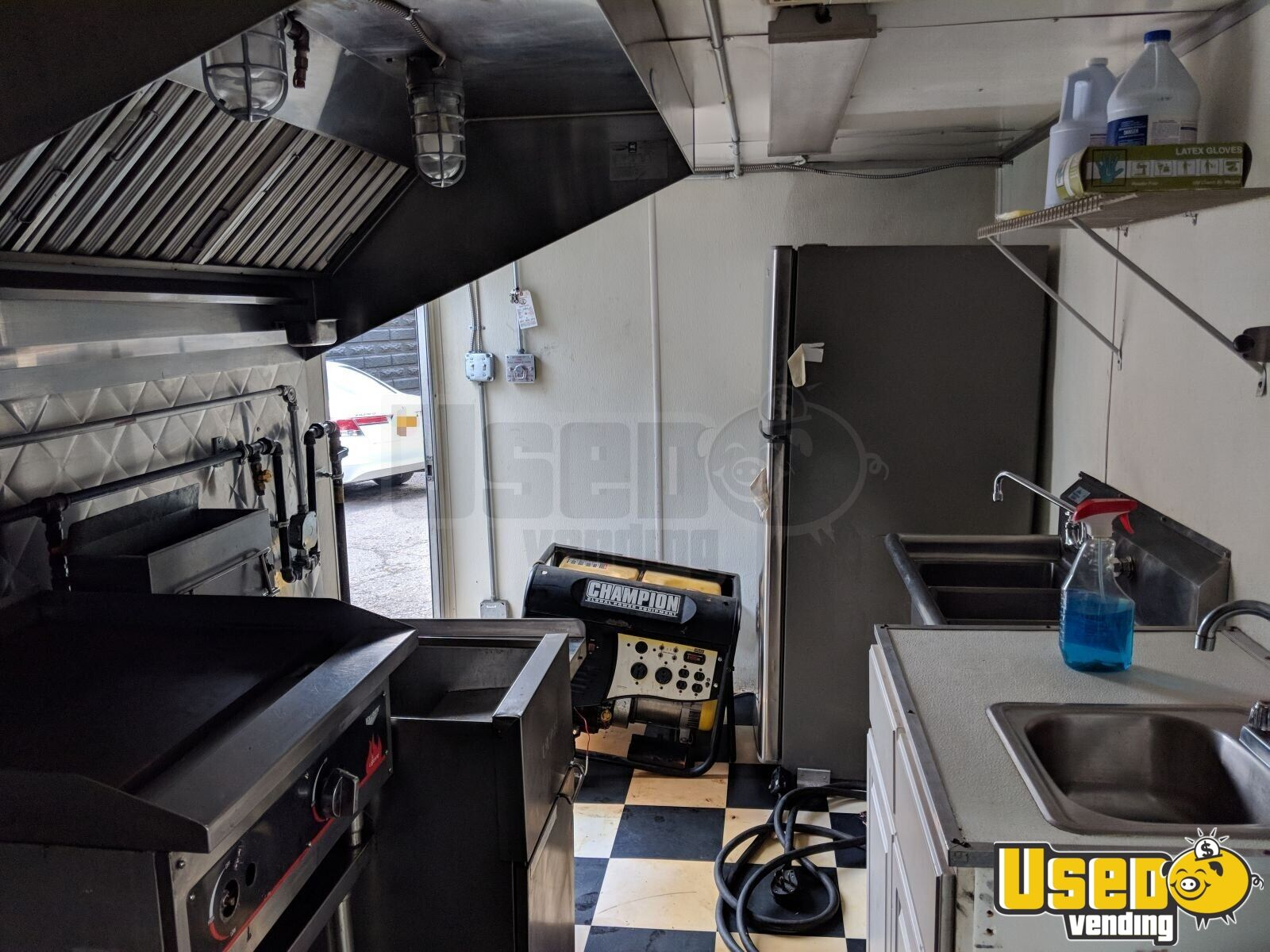 2003 Food Concession Trailer Kitchen Food Trailer Removable Trailer Hitch New York for Sale - 4