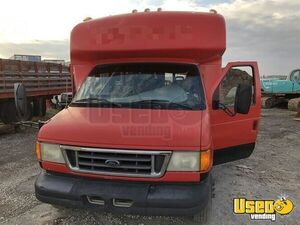 2003 Ford E450 Coffee Truck Cabinets Utah Diesel Engine for Sale