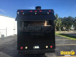 2003 Ford Utility Master Pizza Food Truck Stainless Steel Wall Covers Florida Gas Engine for Sale