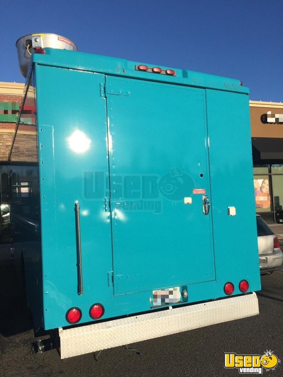 2003 Frht Chases Truck All-purpose Food Truck Insulated Walls Washington Diesel Engine for Sale - 5