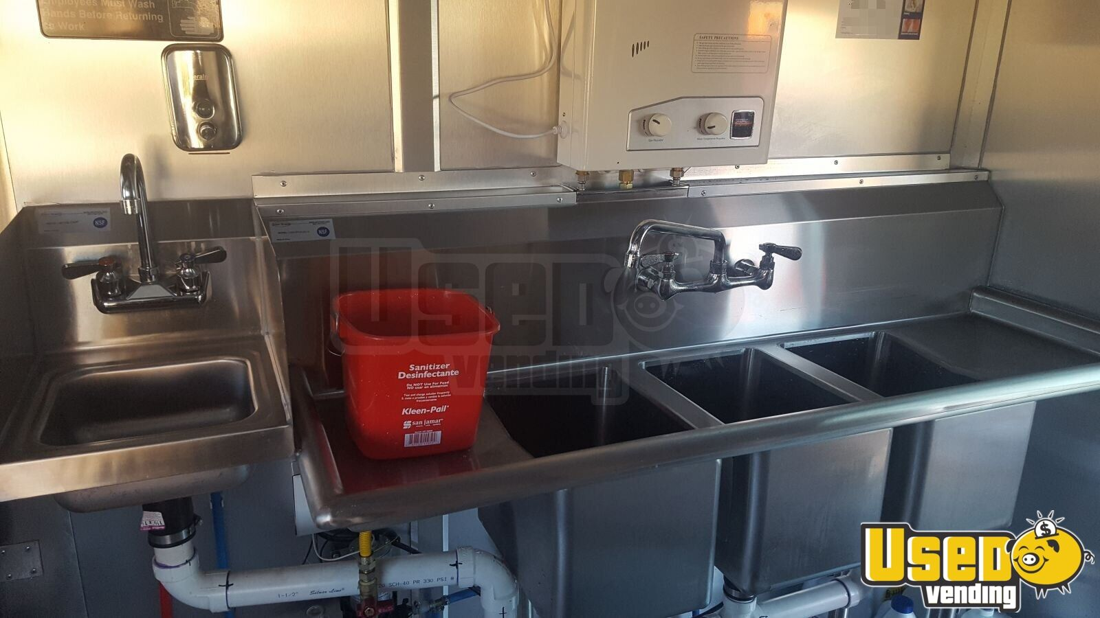 2003 Gmc P-42 Food Truck Fryer North Carolina Gas Engine for Sale - 12