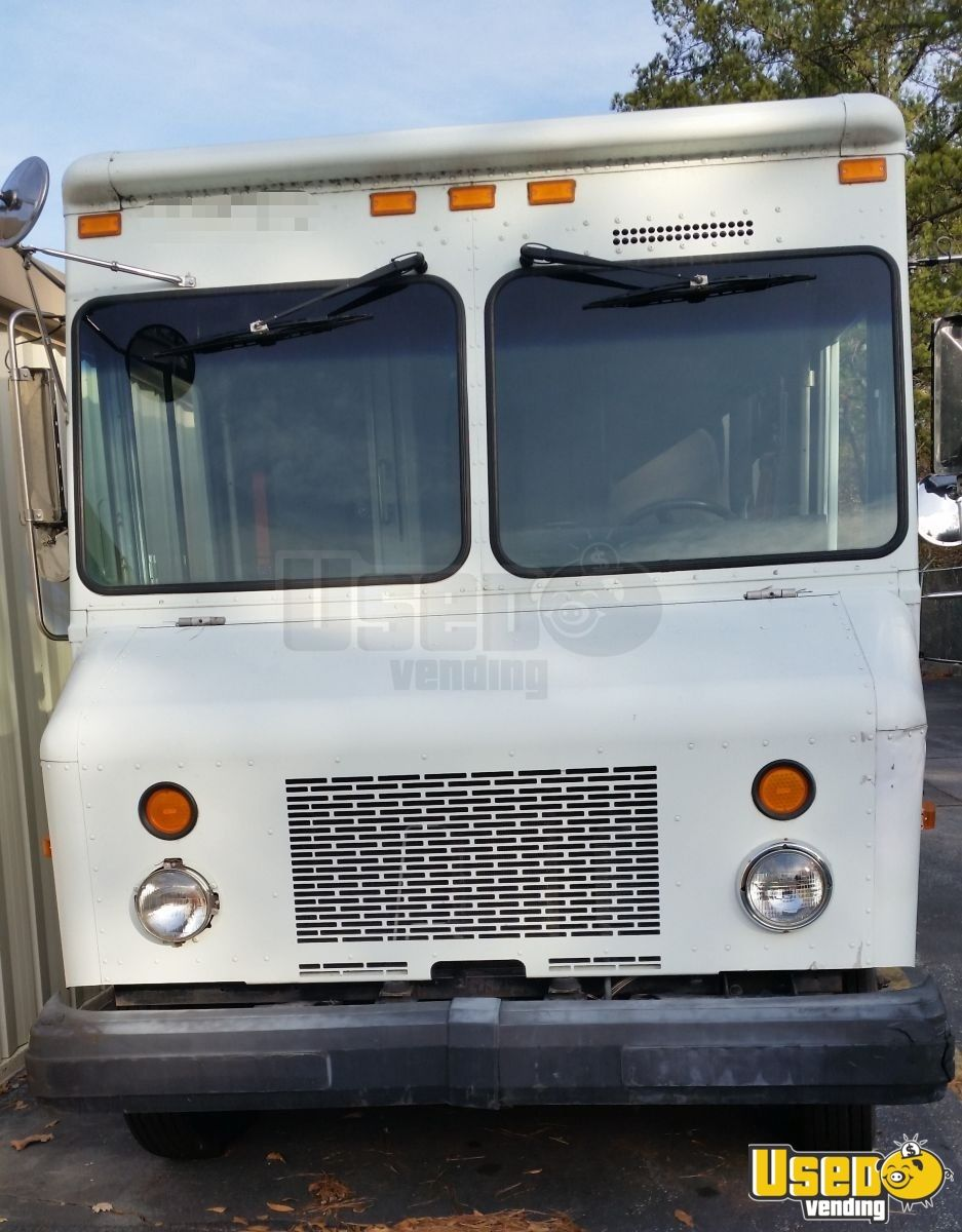 2003 Gruman P42 Workhorse Stepvan Diamond Plated Aluminum Flooring Georgia Diesel Engine for Sale - 4