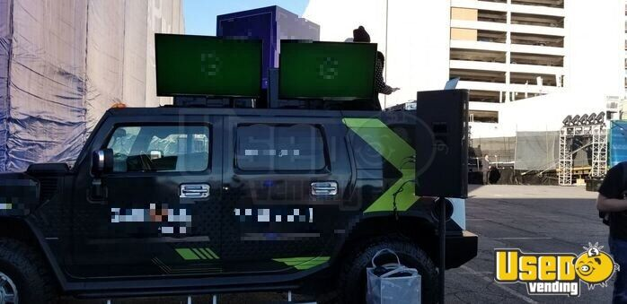 2003 Hummer Party / Gaming Trailer Air Conditioning Nevada Gas Engine for Sale - 2