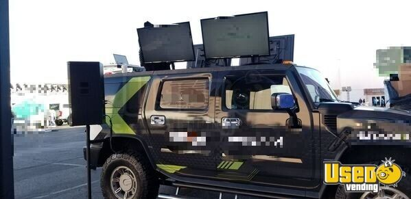 2003 Hummer Party / Gaming Trailer Removable Trailer Hitch Nevada Gas Engine for Sale - 3