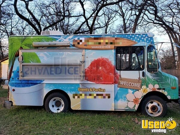 2003 P42 Snowball Truck Snowball Truck Texas Diesel Engine for Sale
