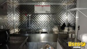 2003 P42 Workhorse All-purpose Food Truck Diamond Plated Aluminum Flooring Florida Gas Engine for Sale