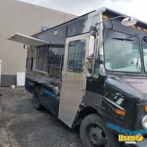 2003 Step Van Kitchen Food Truck All-purpose Food Truck Concession Window Texas Diesel Engine for Sale